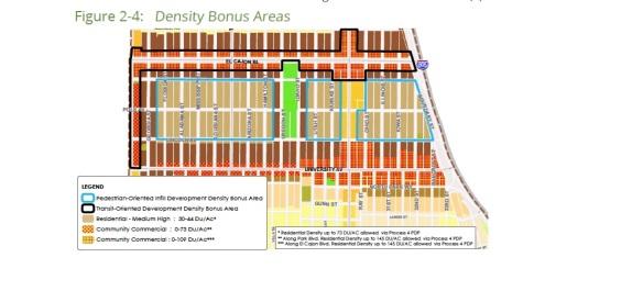NP Density Bonus Area