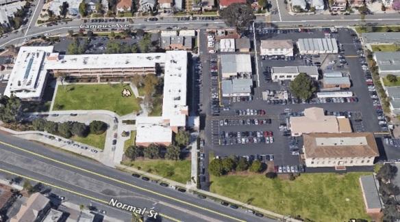 Aerial-Ed Center Site